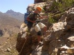 A 60m Abseil above the Nuy River Gorge