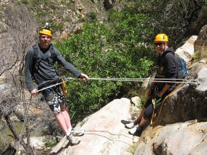 Kloofing - Abseil in Black