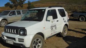 Leopard landmark vehicle