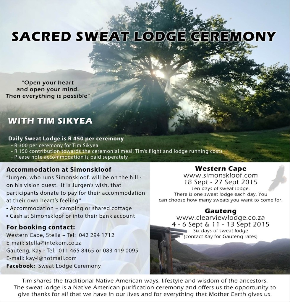 Sweat Lodge Sept 2015 FLYER