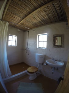 Bathroom at Orange Cottage