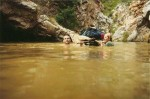 Nuy River Gorge - rafting the mountain pool