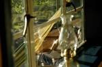 Farmhouse - through the window