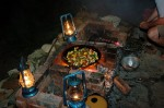 Cooking of the open fire like in the good ol' days