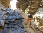 Kloofing - the 2nd abseil