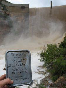 Geocache Rebirth of a River