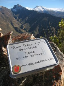 Twin Peak geocache