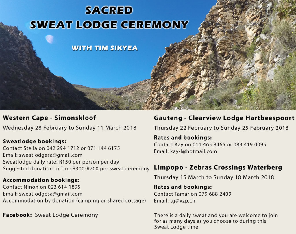 Sacred Sweat Lodge  Ceremony in 7th Year